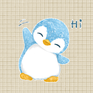 Baby Blue A Penguin Sticker Pack by Pomelo Tree For PC / Windows 7/8/10 / Mac – Free Download