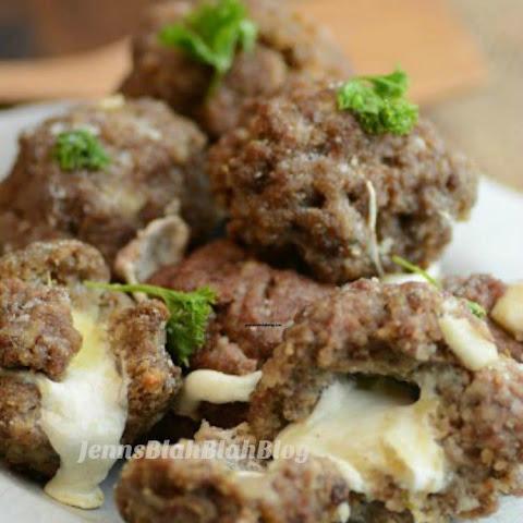 10 Best Baked Mozzarella Stuffed Meatballs Recipes | Yummly