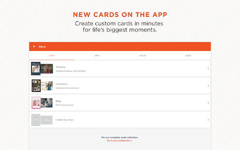 App Shutterfly Prints & Cards APK for Windows Phone