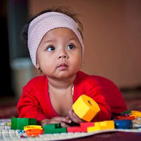 Cute Baby by Syaiful Anwar - Babies & Children Babies