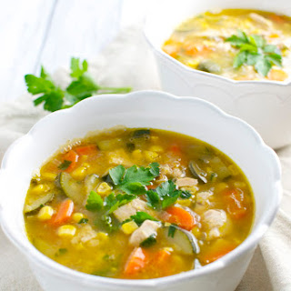 Vegetable Corn Soup