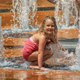 Summer Fun by Karen Carter - Uncategorized All Uncategorized ( playing, water, summer, fun, kids )