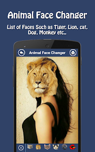 Animal Face Changer - screenshot