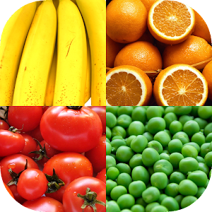 Fruit and Vegetables, Nuts & Berries: Picture-Quiz For PC / Windows 7/8/10 / Mac – Free Download