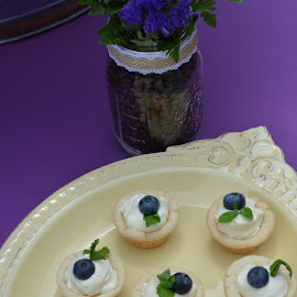 Lemon Tarts by Heidi Squadrito - Food & Drink Cooking & Baking