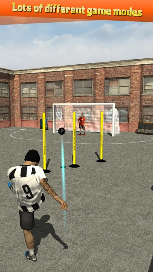 Street Soccer Flick Pro Screenshot 4