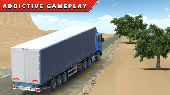 Desert Truck Driver Simulator - screenshot