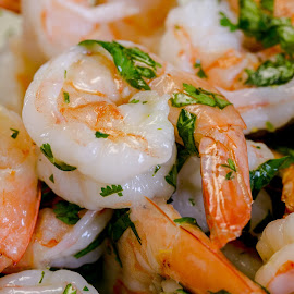 Basil shrimp by Cary Chu - Food & Drink Plated Food (  )