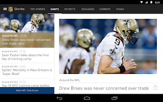 Screenshot of NFL Mobile