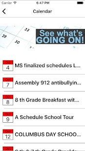 CSS- Columbia Secondary School - screenshot