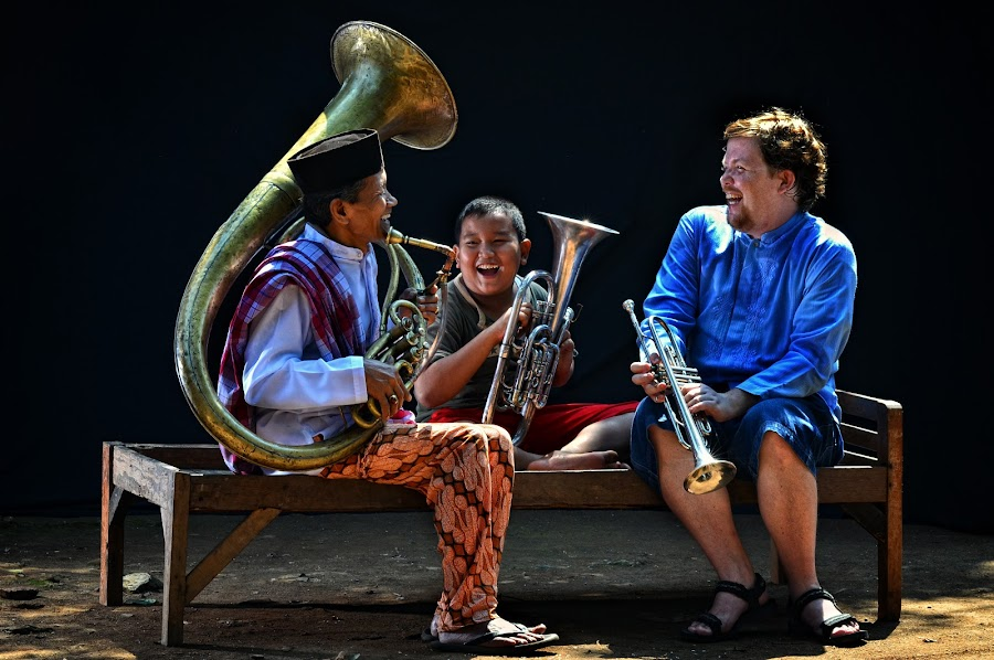 Joy of learning Tanjidor by Agung Dharma Suastika - People Musicians & Entertainers