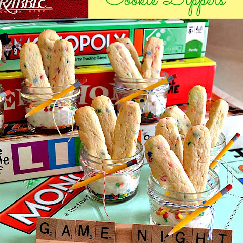 Game Night Cookie Dippers