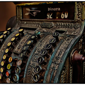 Vintage Cash register by Beeback AlterEgo Biba - Products & Objects Technology Objects ( old, vintage, art, cash, photography )