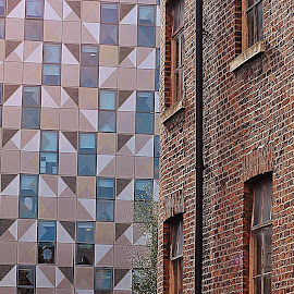 Old  and   new by Gordon Simpson - Buildings & Architecture Architectural Detail
