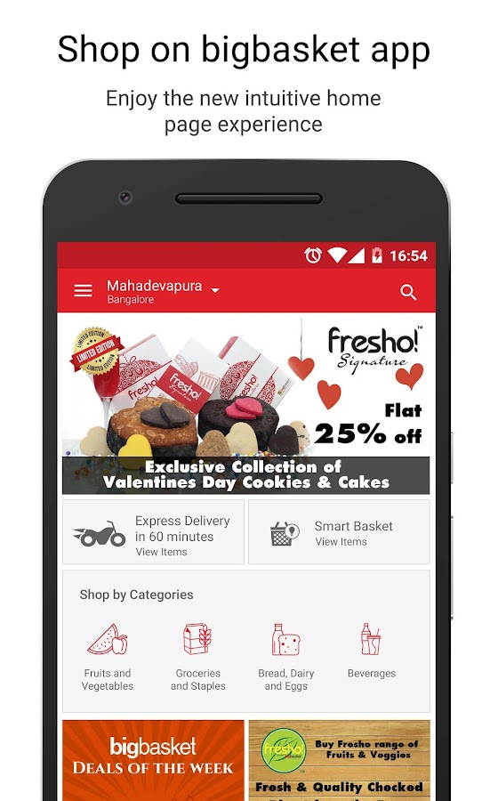 bigbasket - online grocery Screenshot 0