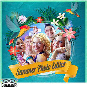 Free Summer Photo Editor Frame