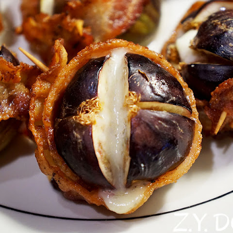Bacon-Wrapped, Blue Cheese Stuffed Fresh Figs (GIFT #1)