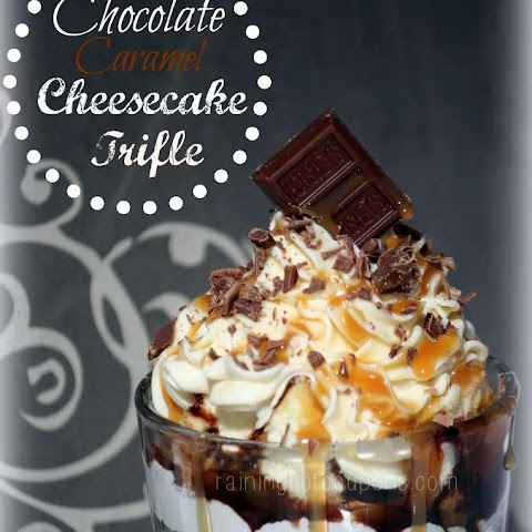 Chocolate Caramel Cheesecake Trifle