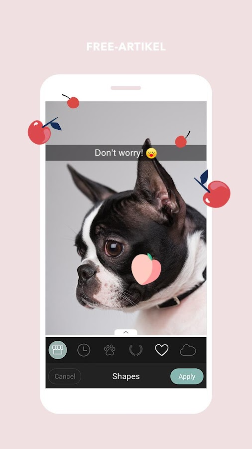 Cymera –Foto und Beauty Editor – Screenshot