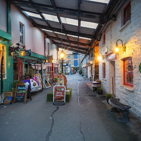 Morning Lights by Jirka Vráblík - City,  Street & Park  Markets & Shops ( ireland, street, west cork, clonakilty )
