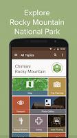 Screenshot of Chimani Rocky Mountain NP