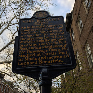 An influential American composer, lyricist, and translator who brought vernacular to musical theater was born here. Works include the ground-breaking The Cradle Will Rock and an adaptation of The ...