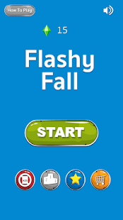 Flashy Fall - screenshot