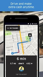 Uber Driver Business app for Android Preview 1