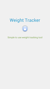 Weight Tracker New - screenshot