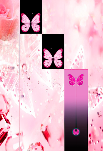 Pink Butterfly Piano Tiles 20  Apk Download Free for PC, smart TV