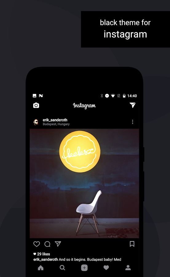 Swift Black Substratum Theme Screenshot 3