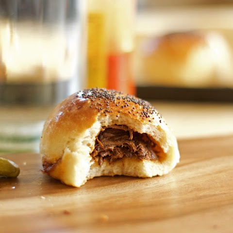 Beef Beer And Bacon Buns