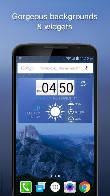 1Weather:Widget Forecast Radar screenshots