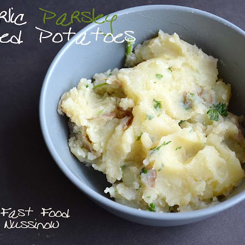 Garlic Mashed Potatoes in the Instant Pot