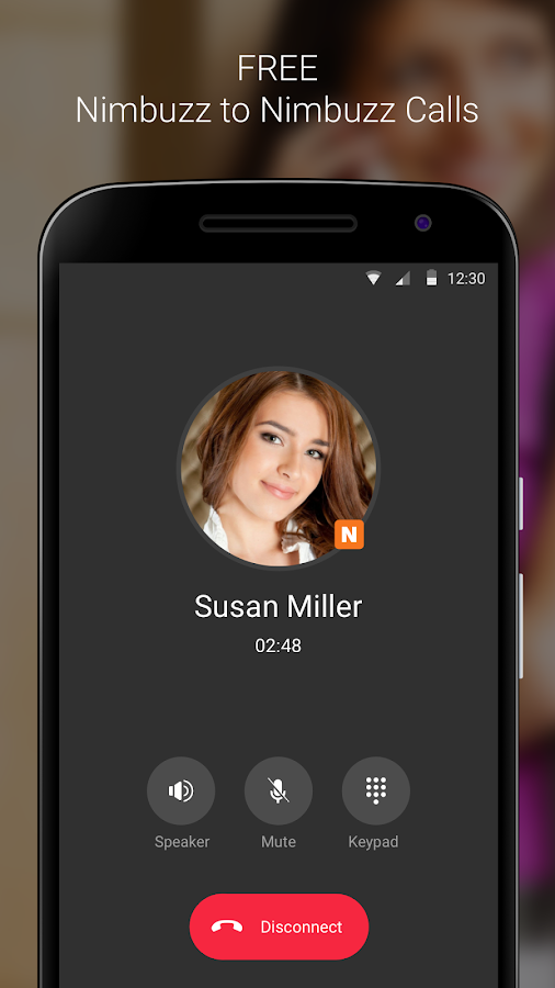 Nimbuzz Messenger / Free Calls Screenshot 1