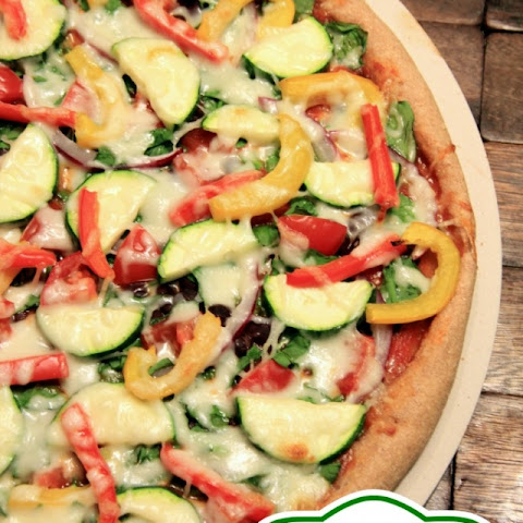 Black Bean Veggie Pizza