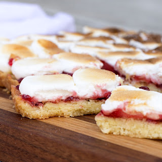 Cherry Marshmallow Bars