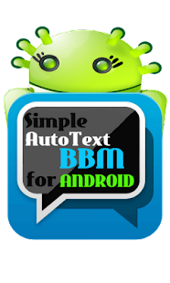 Simple AutoText BBM Android - screenshot