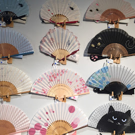 Japanese Fans 1 by Lope Piamonte Jr - Artistic Objects Other Objects