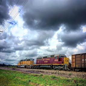 by Kisha Webb - Transportation Trains