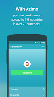 Screenshot of Azimo Money Transfer
