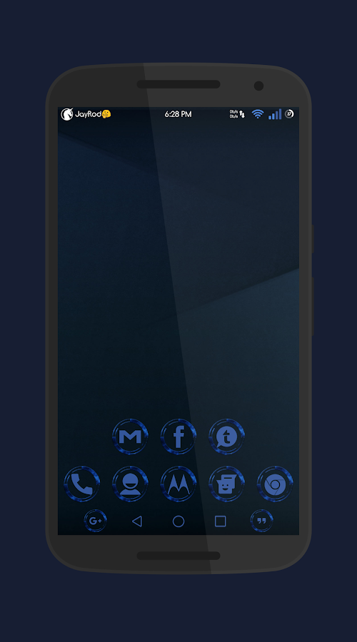 Night Sky - DU_CM12_CM13 Theme Screenshot