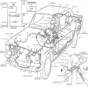 Car Wiring Diagram For PC