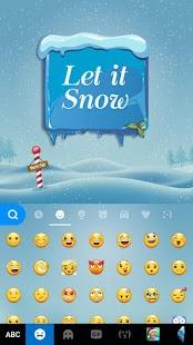 App Snow Kika Keyboard APK for Kindle