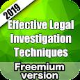Effective Legal Investigation Techniques Prep 2019