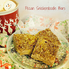 Pecan Snickerdoodle Bars