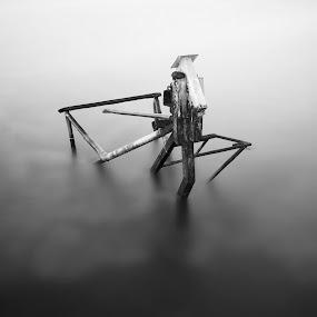 once upon a time by Ömür Kahveci - Abstract Fine Art ( abstract, fineart, waterscape, minimal, seascape, longexposure )