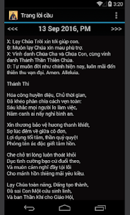 Vietnamese Catholic Prayer App - screenshot