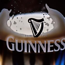 Guinness Symphony by Dmitriev Dmitry - Food & Drink Alcohol & Drinks ( guinness, beer, alcohol, drink, pub )