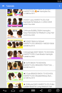 Back-to-School Hairstyles - screenshot